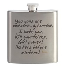 Girls are awesome Flask