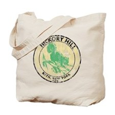 Vintage Hickory Hill Camping Tote Bag