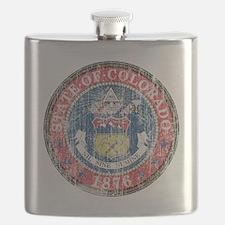 Aged Colorado Seal Flask
