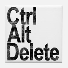 Control Alt Delete Tile Coaster
