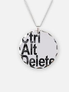 Control Alt Delete Necklace