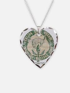 Vintage Cotton Bowl Parade Necklace