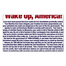 Wake Up, America! Decal