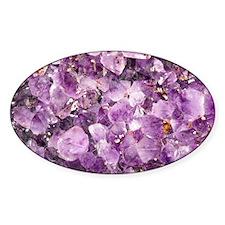 Beautiful Photo of Purple Amethyst  Decal