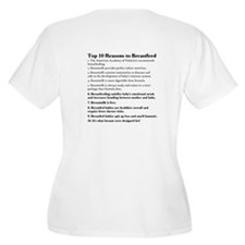 Lactivist (Top Reasons to Breastfeed) Plus Size V-