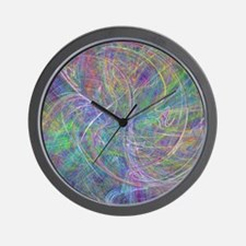Heart of Light – Abstract Flames Swirls Wall Clock