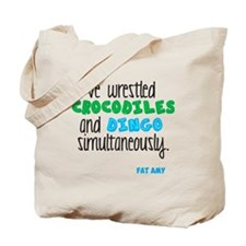 Crocodiles and Dingo Tote Bag