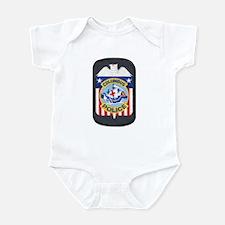 Columbus Police Infant Bodysuit