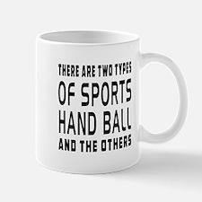 Hand ball designs Mug