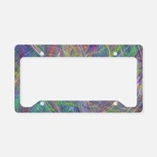 Heart of Light – Abstract Fla License Plate Holder