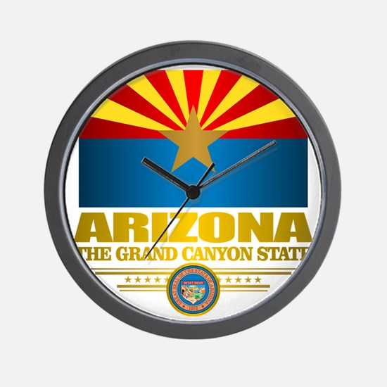 Arizona Pride Wall Clock