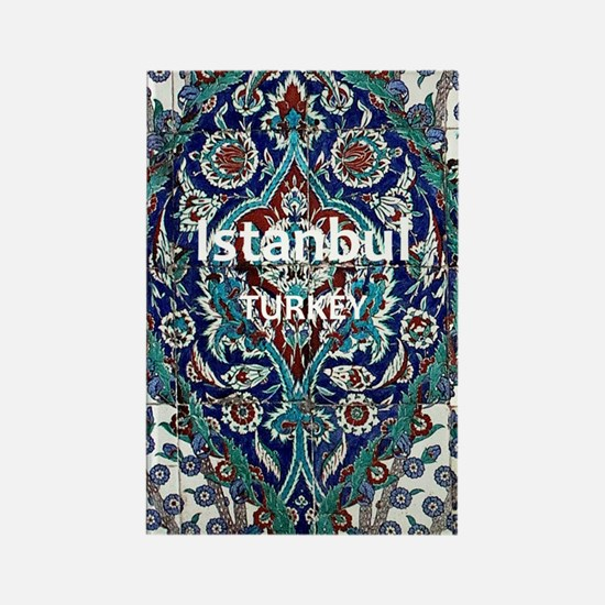 Istanbul_3.0475x5.6556_GalaxyNote Rectangle Magnet