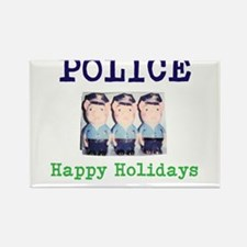 POLICE HAPPY HOLIDAYS, NEW YORK. Magnets