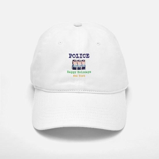 POLICE HAPPY HOLIDAYS, NEW YORK. Baseball Baseball Baseball Cap