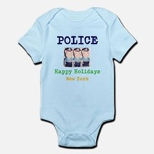 POLICE HAPPY HOLIDAYS, NEW YORK. Body Suit