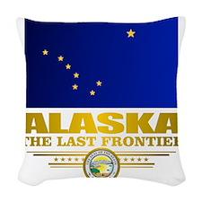 Alaska Pride Woven Throw Pillow