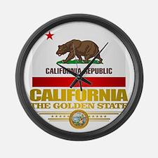 California Pride Large Wall Clock