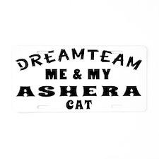 Dream Team Me and My Ashera Aluminum License Plate