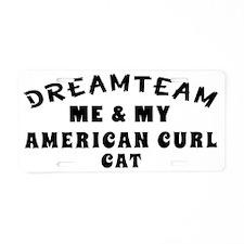 Dream Team Me and My Americ Aluminum License Plate