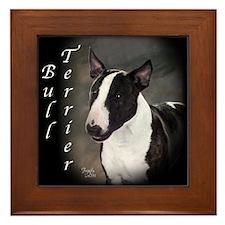 Bull Terrier Framed Tile
