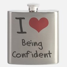 I love Being Confident Flask