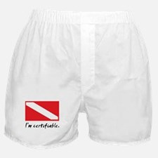 I'm certifiable Boxer Shorts