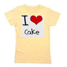 I love Cake Girl's Tee