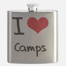 I love Camps Flask