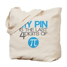 PI Not So Geek Tote Bag