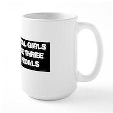 Bumper Sticker Girls Black Mug