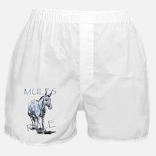 Mules Rule Boxer Shorts