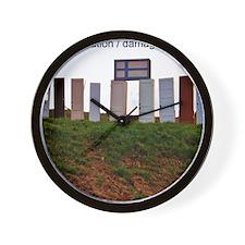 damaged goods Wall Clock