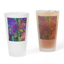 Glowing Burst of Color Deva Drinking Glass