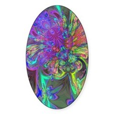 Glowing Burst of Color Deva Decal
