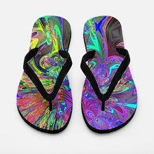 Glowing Burst of Color Deva Flip Flops