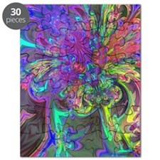 Glowing Burst of Color Deva Puzzle