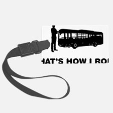 Bus-Driver-12-A Luggage Tag