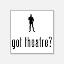 """Theatre-02-A Square Sticker 3"""" x 3"""""""
