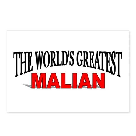 """The World's Greatest Malian"" Postcards (Package o"