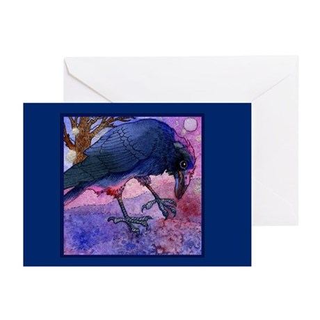 Crow & Moon Greeting Cards (Pk of 10)