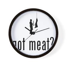 Butcher-02-A Wall Clock