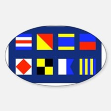 CODE FLAG Decal