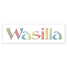 Wasilli Bumper Bumper Sticker