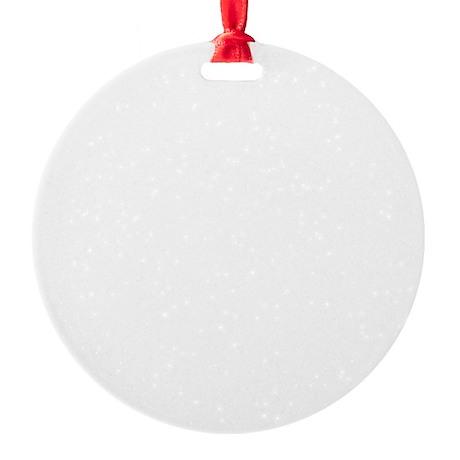 Trampoline-06-B Round Ornament