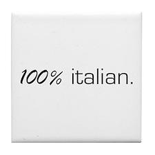 100% Italian Tile Coaster