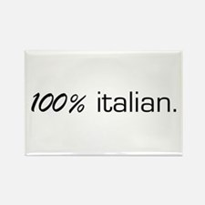 100% Italian Rectangle Magnet