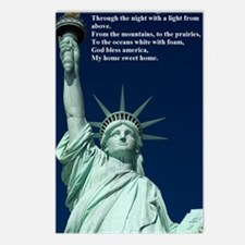 Statue of Liberty with Go Postcards (Package of 8)