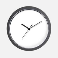 Trap-Shooting-02-B Wall Clock
