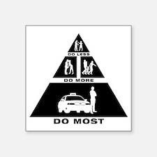 """Cab-Taxi-Driver-11-A Square Sticker 3"""" x 3"""""""