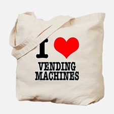 I Heart (Love) Vending Machines Tote Bag